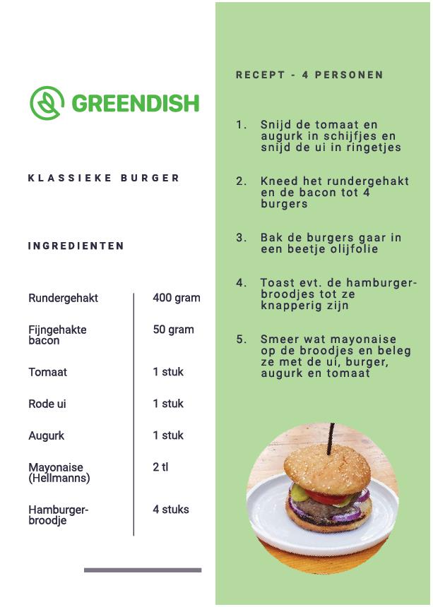 gezonde burger